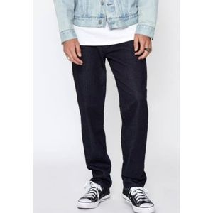 Pacsun Dark Wash Straight Jeans 33x32